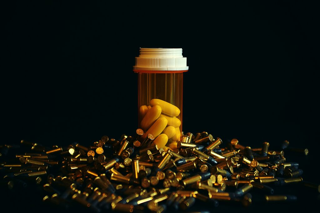 Pills Among Bullets