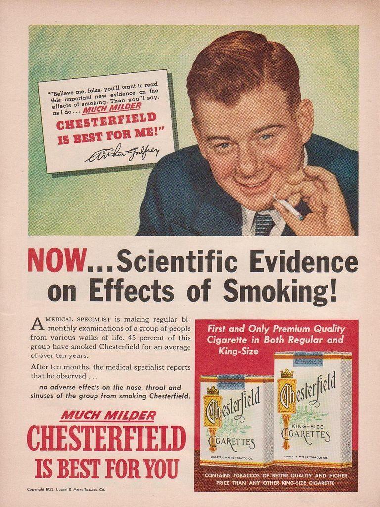 1950s Cigarette Ad