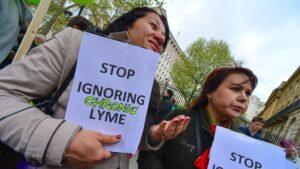 Lyme disease protest